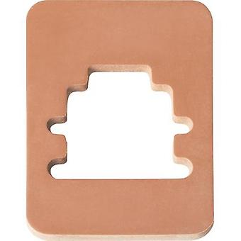 Hirschmann 733 273-002 GMN 209-3 Flat Seal For Contact Boxes Number of pins:-