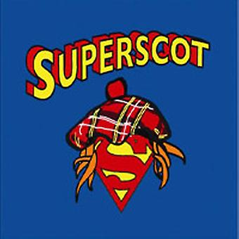 Scottish Superscot Superman T Shirt