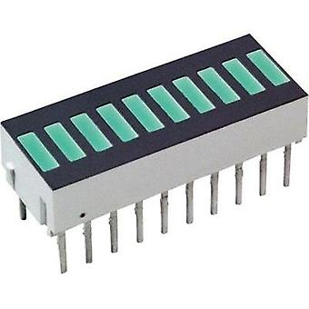 LED bargraph array Green (L x W x H) 25.4 x 10.16 x 9.14 mm Broadcom