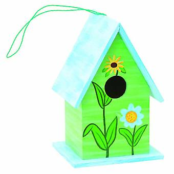 Bricomed Birdhouse decorated for birds (Garden , Garden decoration , Garden decorations)