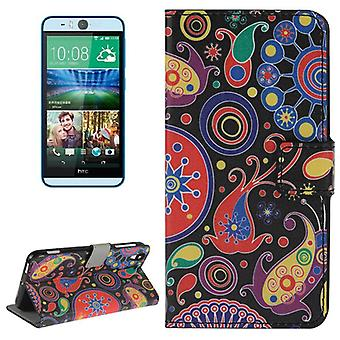 Mobile case bag for mobile phone HTC desire eye motif abstract color Flash