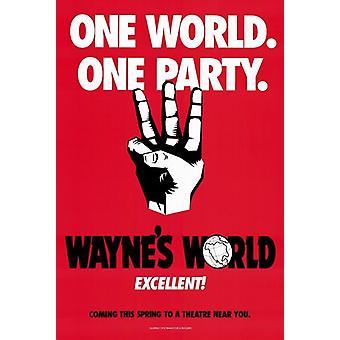ウェインズ ワールド映画ポスター (11 x 17)