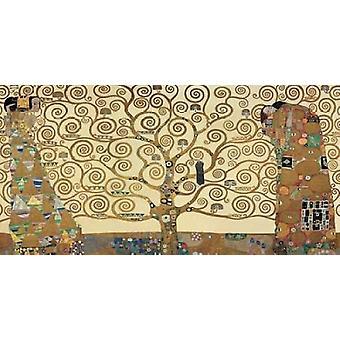 Livets Poster trykk av Gustav Klimt