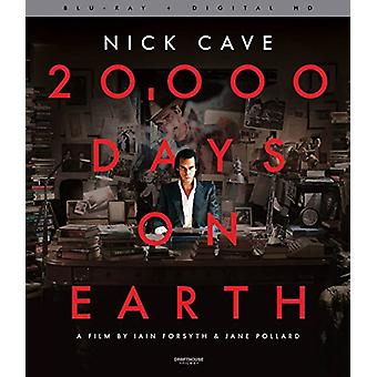 20 000 Days on Earth [BLU-RAY] USA import