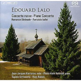 E. Lalo - Douard Lalo: Concerto Russe; Piano konsert [SACD] USA import