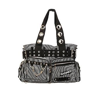 Banned Stripe Handcuff Handbag