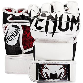 Venum Undisputed 2.0 Nappa lederen MMA handschoenen - wit