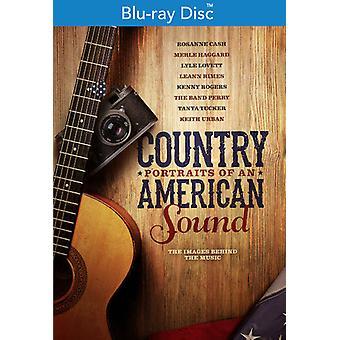 Land: Portrætter af en amerikansk lyd [Blu-ray] USA import