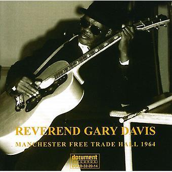 Rev. Gary Davis - Manchester frihandel Hall 1964 [CD] USA import
