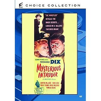 Mysterious Intruder [DVD] USA import