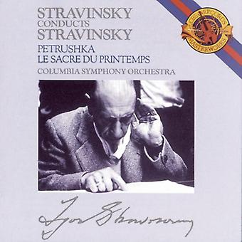 I. Stravinsky - Stravinsky: Le Sacre Du Printemps; Petrushka [CD] USA import