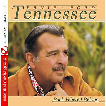 Tennessee Ernie Ford - Back Where I Belong [CD] USA import