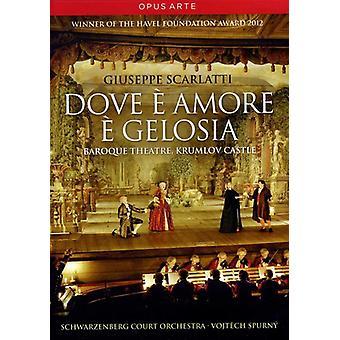 Dove E Amore E Gelosia [DVD] USA import