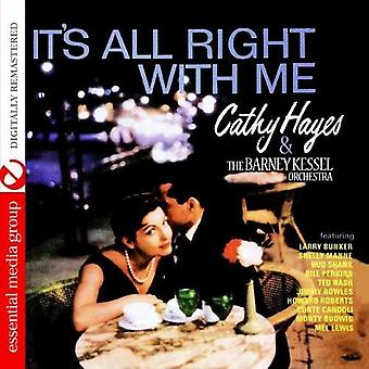 Cathy Hayes & Barney Kessel Orchestra - es ist All Right with Me [CD] USA Import