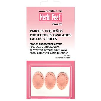 Herbi Feet Patches Oval Small Tripe 9 you.