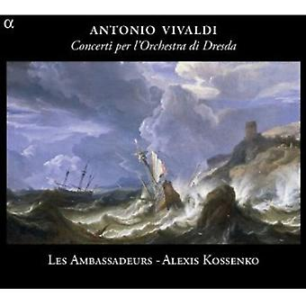A. Vivaldi - Vivaldi: L'Orchestra Di Dresda, Vol. 1 [CD] USA import