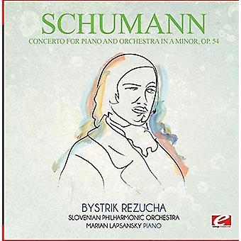 Schumann - konsert for Piano & Orchestra i en mindre Op. 54 [DVD] USA import