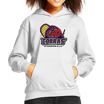 Purple Champs Globo Gym Purple Cobras Dodgeball Kid's Hooded Sweatshirt
