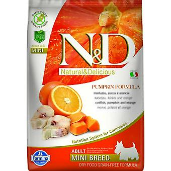 Farmina N&D Grain Free Adult Poisson et Orange (Chiens , Nourriture , Croquettes)