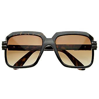 Vintage inspireret fed tyk Frame Square ramme solbriller