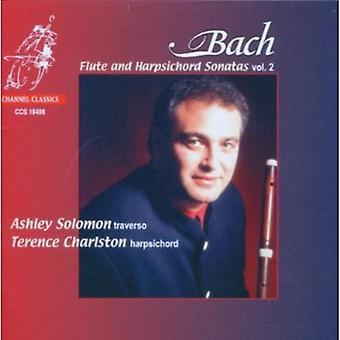 J.S. Bach - Bach: Fløjte og cembalo sonater, Vol. 2 [CD] USA import