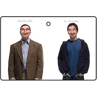 Bean jeg er en PC og jeg er en Mac bil luftfriskere