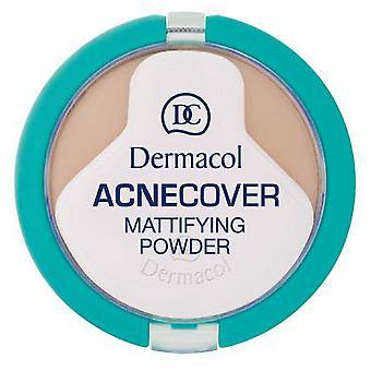Dermacol  Acnecover Mattifying Powder Shell (Maquillage , Visage , Poudres matifiantes)