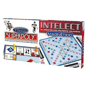Falomir Superpoly and Magnetic Intelect 10 (Toys , Boardgames , Strategic)