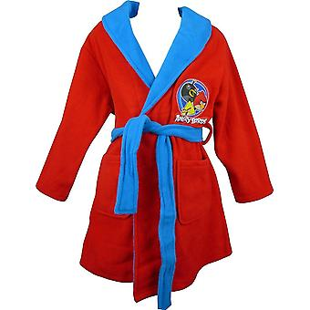 Boys Angry Birds Dressing Gown / Bathrobe
