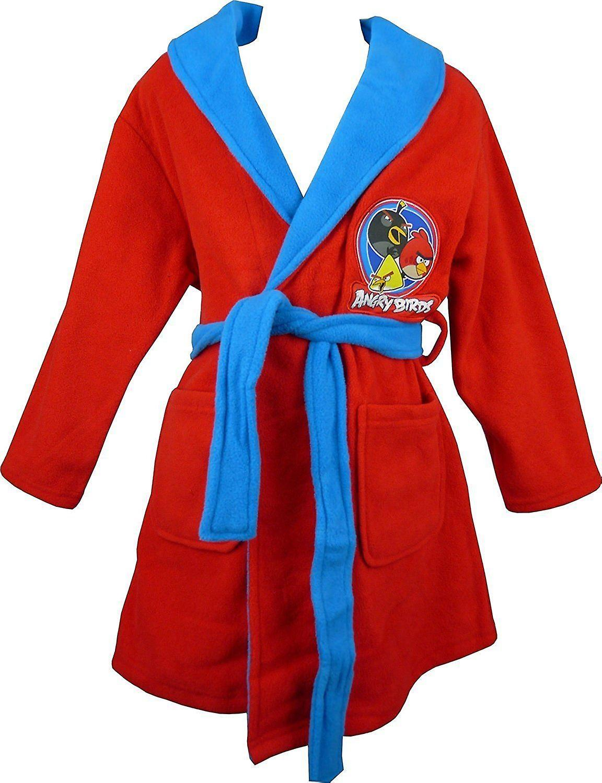 Boys Angry Birds Dressing Gown / Bathrobe