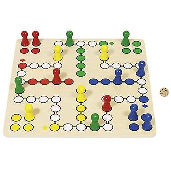 Goki Ludo board game (Toys , Boardgames , Traditionals)