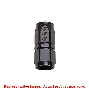 Russell Hose Ends - Full Flow 610015 Black -4AN Fits:UNIVERSAL 0 - 0 NON APPLIC