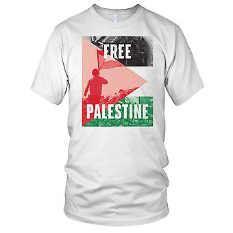 Free Palestine - Peace Ladies T Shirt