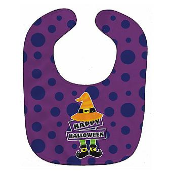 Carolines Treasures  BB8787BIB Happy Halloween Baby Bib