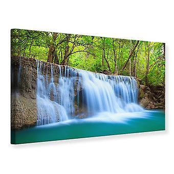 Leinwand drucken Wasserfall Si Nakharin