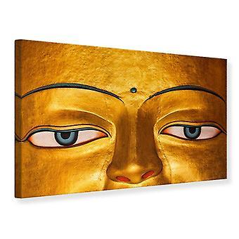 Die Augen des Buddha-Leinwand