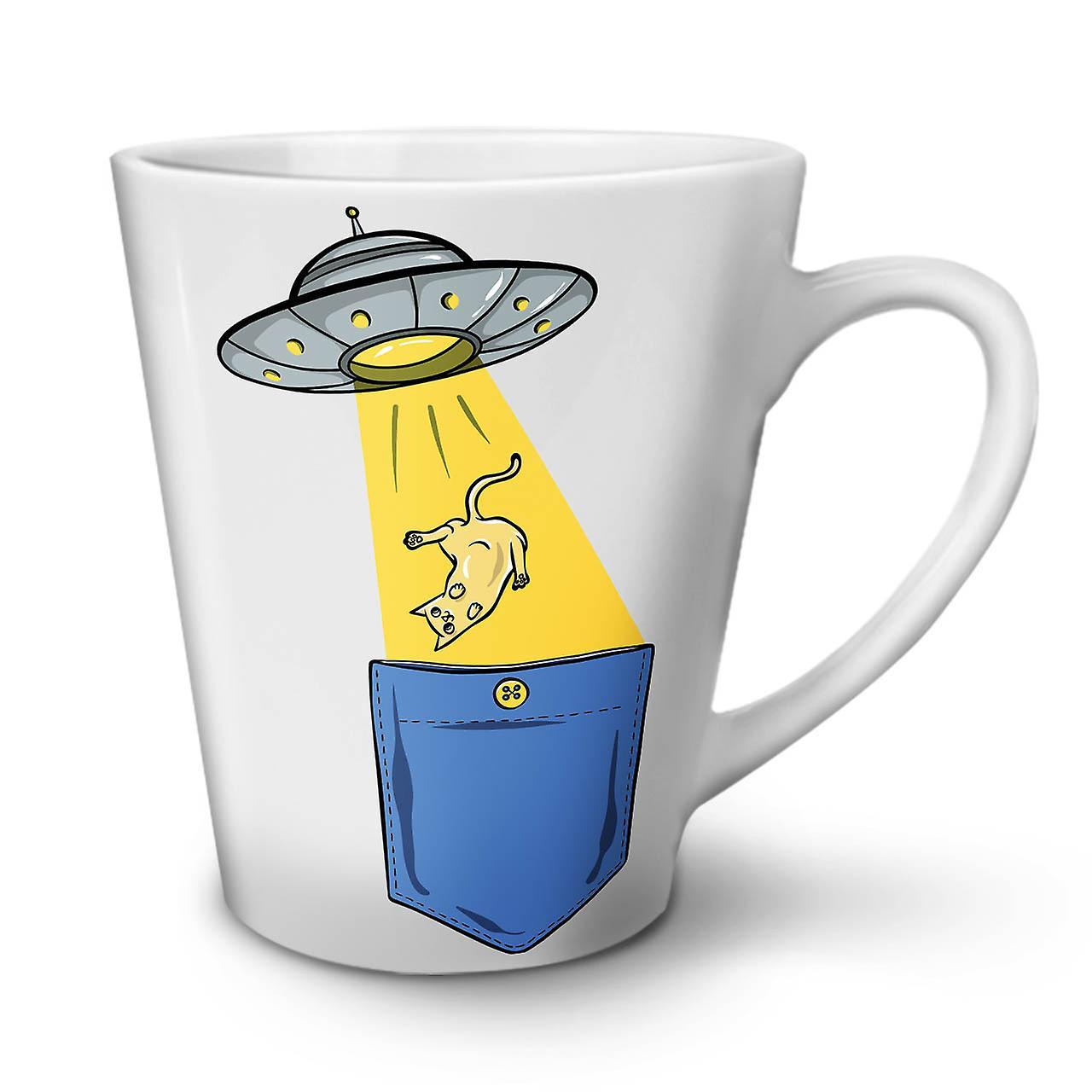 Coffee Ceramic Mug Beings Abduction Latte OzWellcoda New White Tea 12 YbgfvI76y