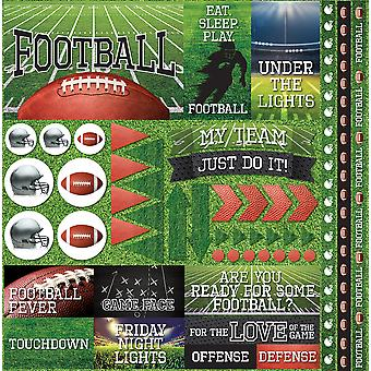 Football 2 Elements Stickers 12
