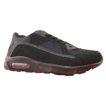 Mens Air Gym Running Jogger Lace Up Sports Fashion Trainers Shoes