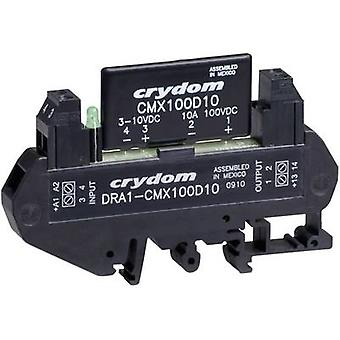 Crydom DRA1-CMX60D5 DIN Rail Mount Solid State Relay, DC