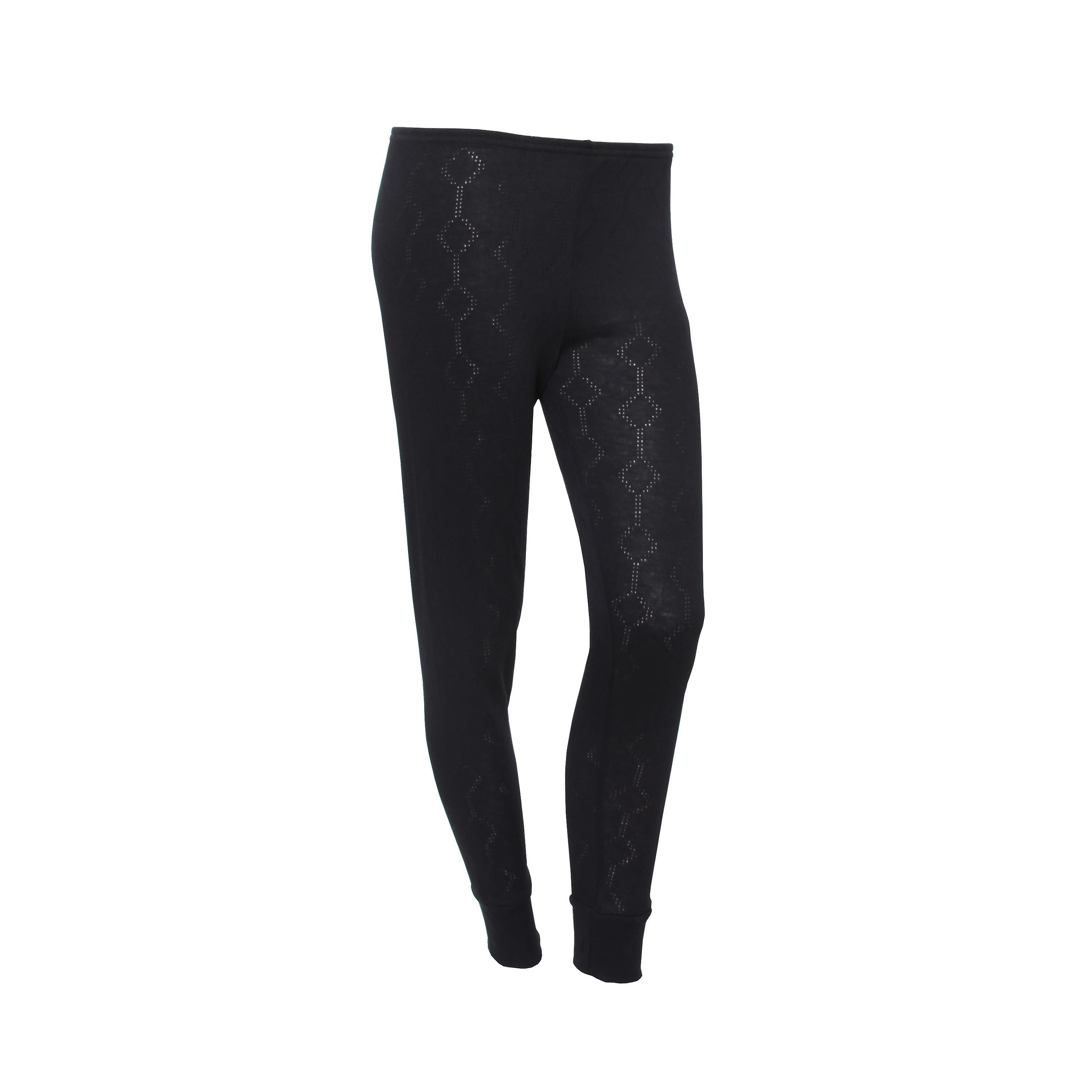 FLOSO Damen/Damen Thermo-Unterwäsche lange Jane (Viskose-Premium-Reihe)