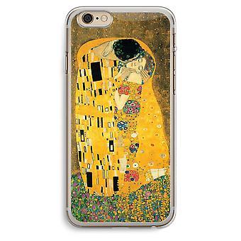 iPhone 6 プラス 6 s プラス透明ケース (ソフト) - Der Kuss