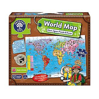 Orchard World map and poster puzzle