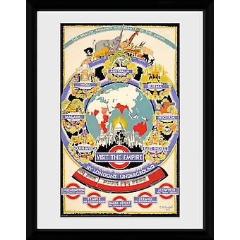 Transport For London Visit The Empire Framed Collector Print