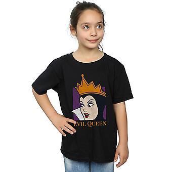 اقتصاص ديزني الفتيات الشر الملكة تي شيرت الرأس