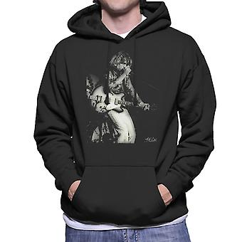 Kevin Ayers Of Soft Machine On Stage Men's Hooded Sweatshirt