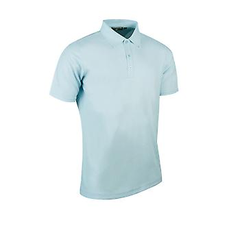 Glenmuir Mens Performance Pique Plain Breathable Polo Shirt