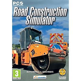 Road Construction Simulator (PC CD)-fabriks forseglet