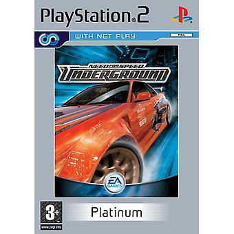 Bedarf an Geschwindigkeit unterirdische Platinum (PS2)