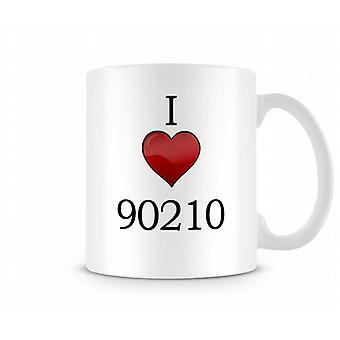 I Love 90210 Printed Mug